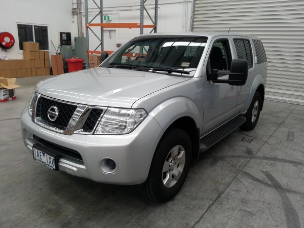 Clearview Towing Mirrors for a Nissan Pathfinder (2004 to 2013)