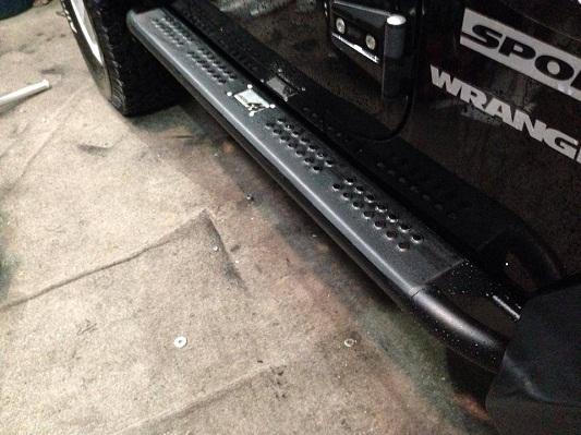 jk wrangler sliders 2 door